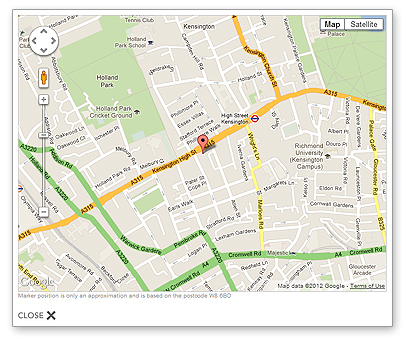 See your clients and suppliers on a map